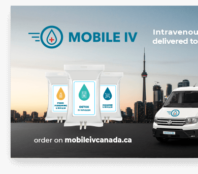 Mobile IV (Toronto) business card design projects